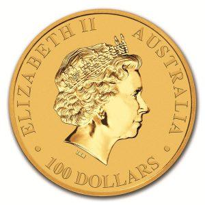 Kangaroo Nugget gouden munt 2018 2