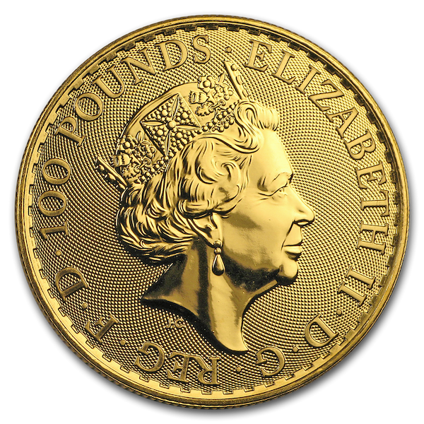britannia gouden munt