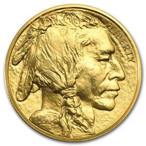American Buffalo 1 troy ounce gouden munt 2018