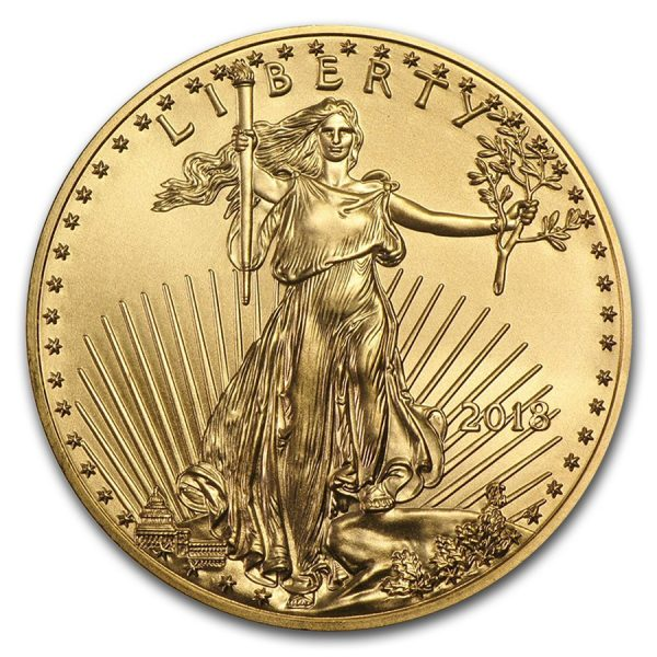 American Eagle 1 troy ounce gouden munt 2018