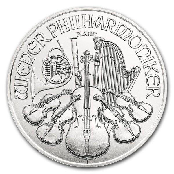 Philharmoniker 1 troy ounce platina munt 2018