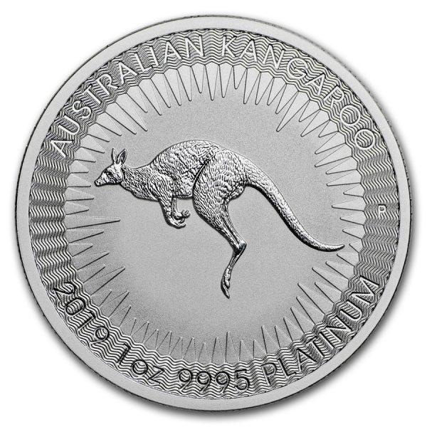 Kangaroo 1 troy ounce platina munt 2019