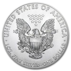 American Eagle 1 troy ounce zilveren munt 2019