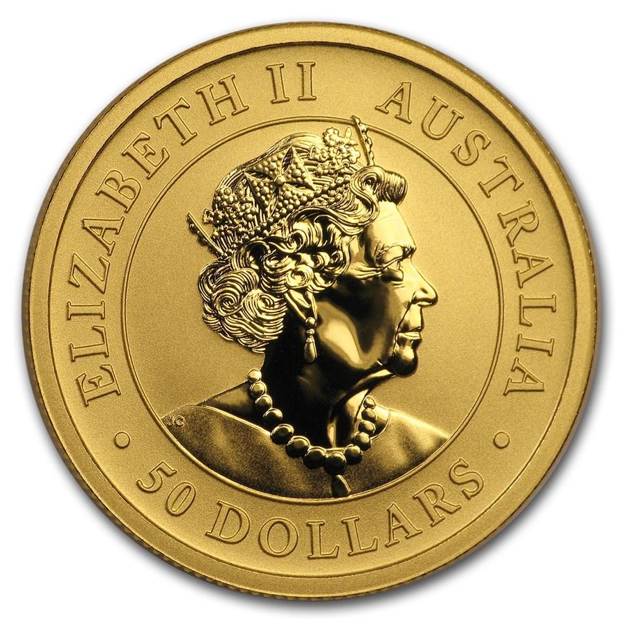 Kangaroo 1/2 troy ounce gouden munt 2019
