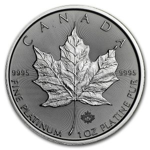 Platina Canadian Maple Leaf
