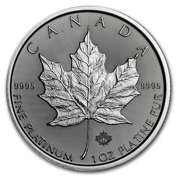 Platina Canadian Maple Leaf