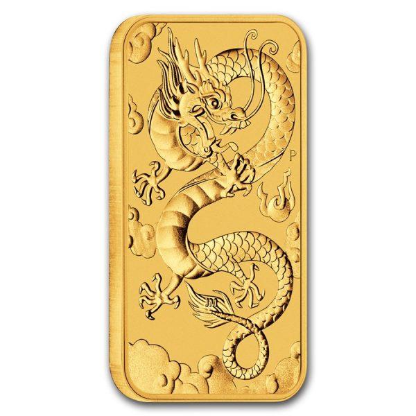 Rectangular gouden munt 2019