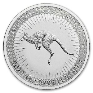 Kangaroo 2020 munt platina