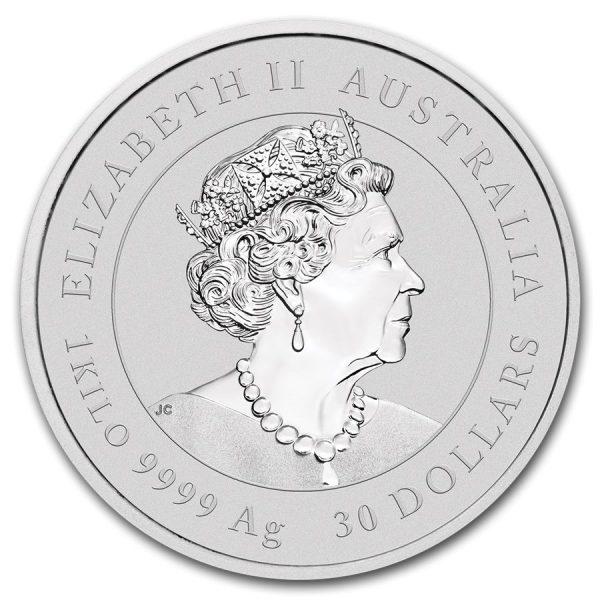 Lunar Mouse 1 kilo zilveren munt