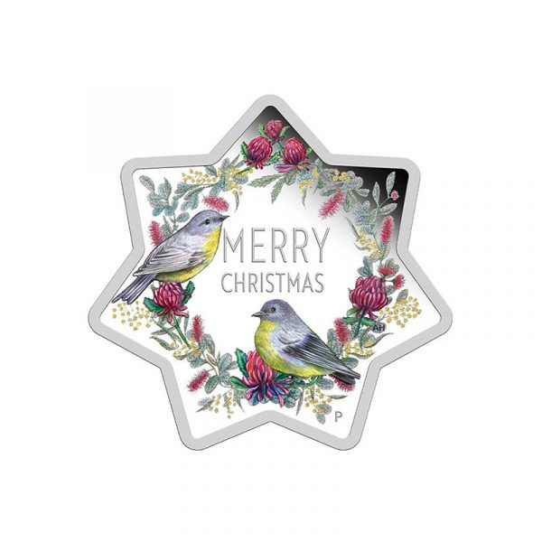 Merry Christmas Star Shaped