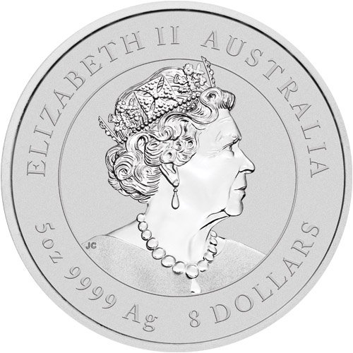 Lunar Mouse 5 troy ounce zilveren munt 2020
