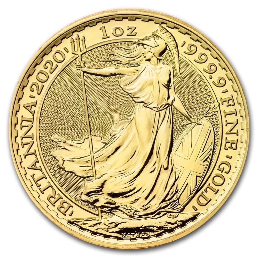britannia gouden munt 2020