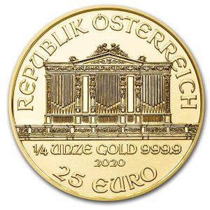 Philharmoniker 1/4 gouden munt 2020