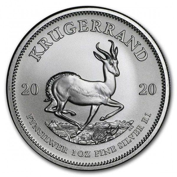 Krugerrand 1 troy ounce zilveren munt 2020
