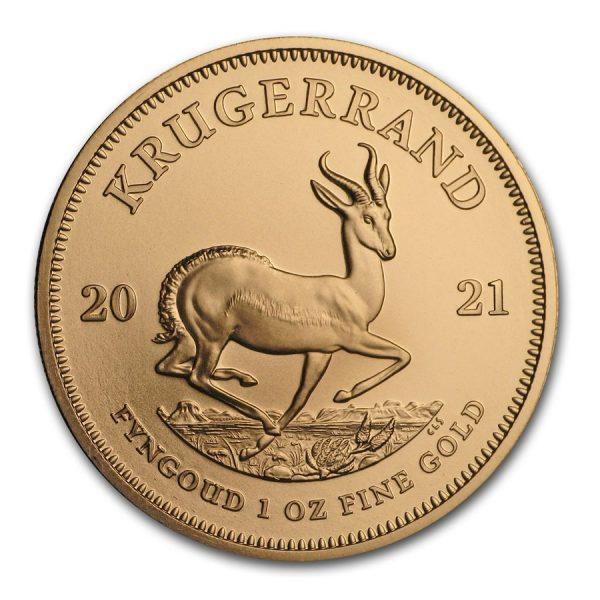 Krugerrand 1 troy ounce gouden munt 2021