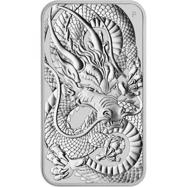 Rectangular zilveren munt 2021