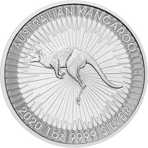Kangaroo 1 troy ounce zilveren munt 2020