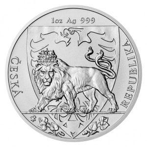 Niue Czech Lion