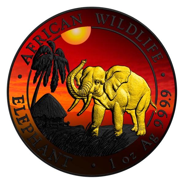 Somalia African Elephant Ruthenium