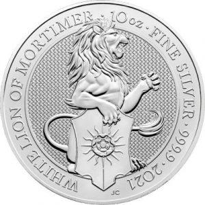 Lion 10 troy ounce