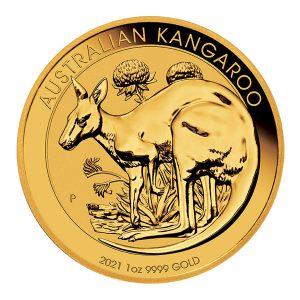 Kangaroo 1 troy ounce gouden munt 2021