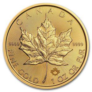 Gouden Maple leaf 2021