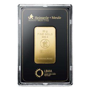 Heimerle + Meule 20 gram goudbaar