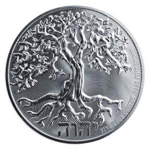 Niue Tree of Life 5 troy ounce zilveren munt 2021