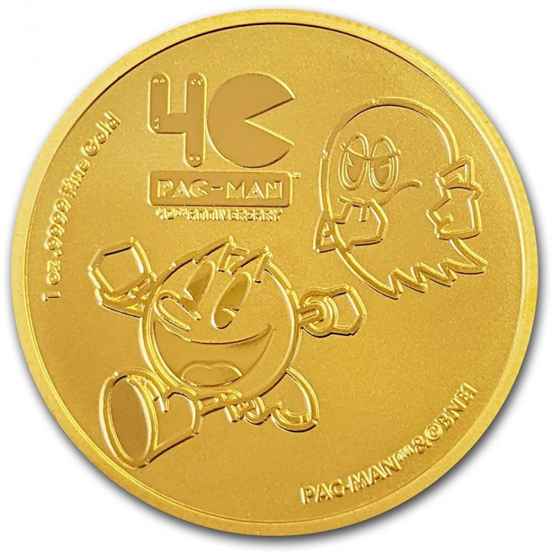 Niue Pac-Man 40th Anniversary 1 troy ounce gouden