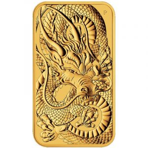 Rectangular gouden munt 2021