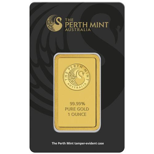 Perth Mint 1 troy ounce goudbaar