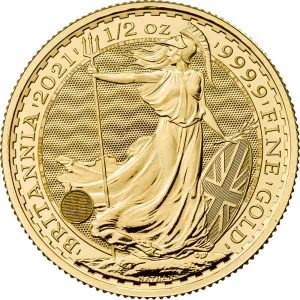 Britannia 1/2 Troy ounce gouden munt 2021