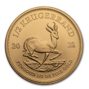 Krugerrand 1/2 troy ounce gouden munt 2021
