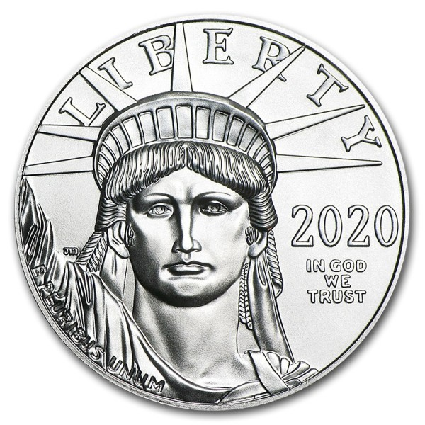 American Eagle 1 troy ounce platina munt