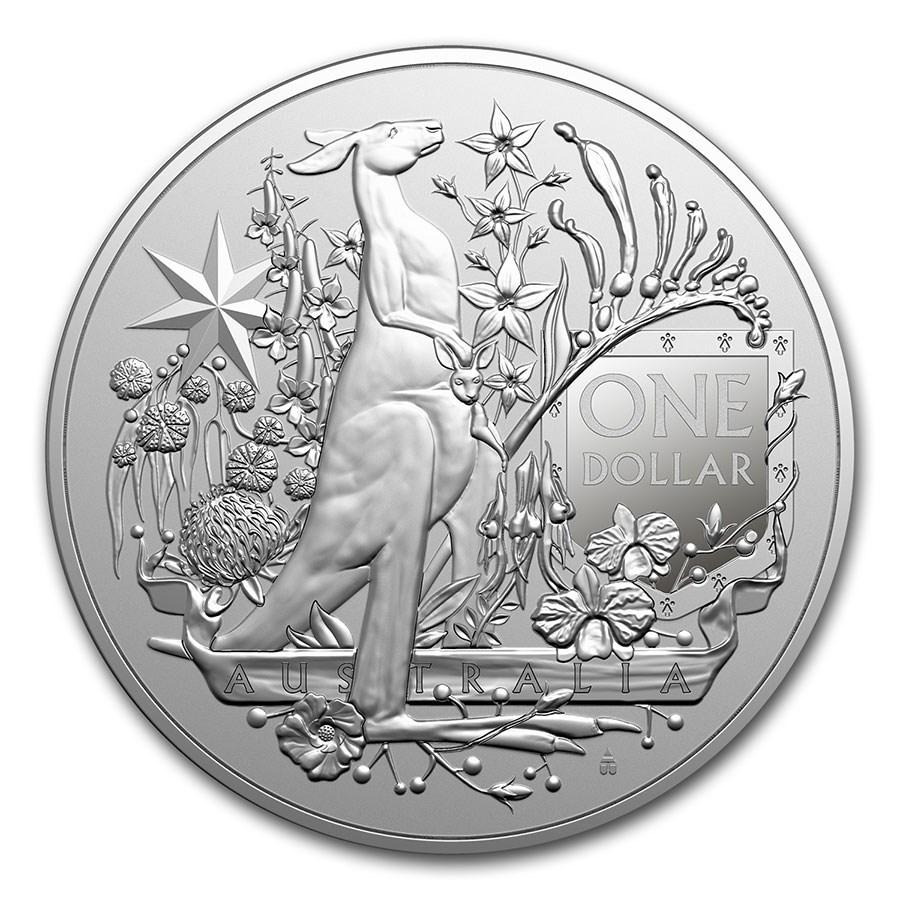 Australian Coat of Arms 1 troy ounce zilveren munt 2021