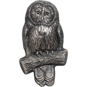 Wildlife #1 Ural Owl 2 troy ounce zilveren munt 2019