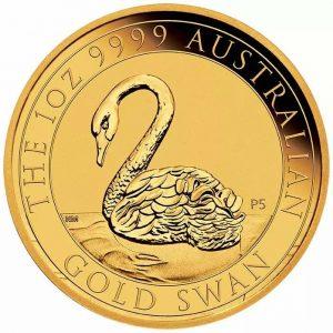Australian Swan 1 troy ounce gouden munt 2021