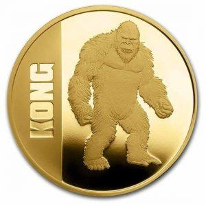 Kong 1 troy ounce gouden munt