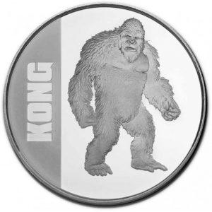 Kong 1 troy ounce zilveren munt