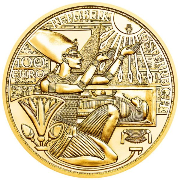 Gold of the Parao 2021 gold coin 1
