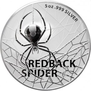Redback Spider 5 troy ounce