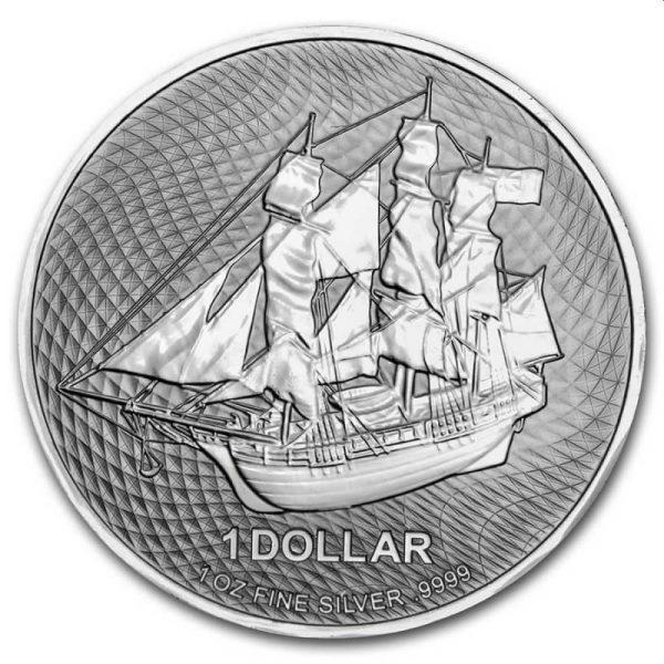 Cook Islands 1 troy ounce zilveren munt 2021